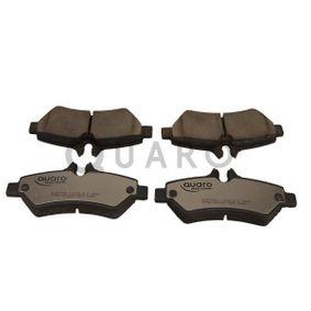 Bremsbelagsatz, Scheibenbremse Breite: 137mm, Höhe: 63mm, Dicke/Stärke: 19mm mit OEM-Nummer A 004 420 69 20