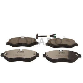 Bremsbelagsatz, Scheibenbremse Breite: 163,3mm, Höhe: 67,1mm, Dicke/Stärke: 20,9mm mit OEM-Nummer 2E06 98151