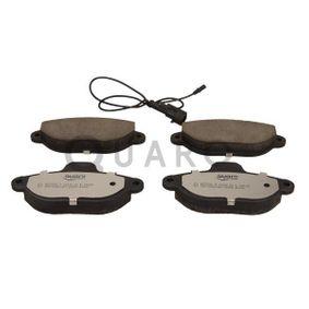 Brake Pad Set, disc brake QP7932C PANDA (169) 1.2 MY 2012
