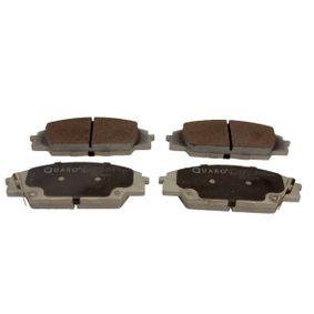 Brake Pad Set, disc brake QP8493 CIVIC 8 Hatchback (FN, FK) 2.0 R MY 2007