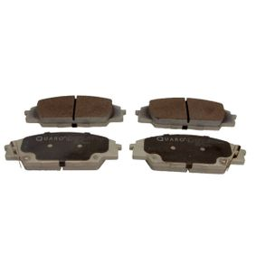 Brake Pad Set, disc brake Width: 135,4mm, Height: 52,3mm, Thickness: 16mm with OEM Number 45022S2AE50
