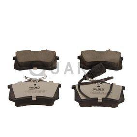 Bremsbelagsatz, Scheibenbremse Breite: 87mm, Höhe: 53mm, Dicke/Stärke: 17,2mm mit OEM-Nummer 5M2J2 M008 CA