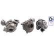 OEM Турбина, принудително пълнене с въздух PA7633601 от TURBO MOTOR
