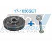 OEM Riemenscheibensatz, Kurbelwelle 17-1036SET von IJS GROUP