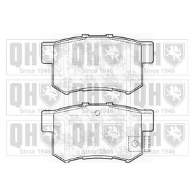 Brake Pad Set, disc brake Width: 47,7mm, Height: 47,7mm, Thickness: 15,3mm with OEM Number 43022- S9A-E52