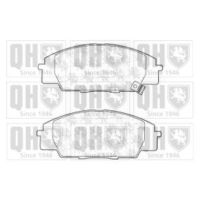 Brake Pad Set, disc brake Width: 52,5mm, Height: 52,5mm, Thickness: 16,6mm with OEM Number 06450S5TE00