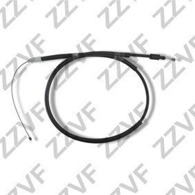Cable, parking brake Length: 1610mm, Length: 1260mm with OEM Number 4745.K1