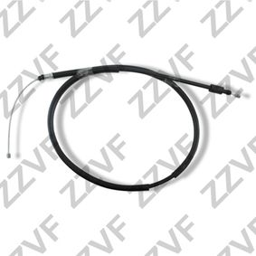 Cable, parking brake Length: 1545mm, Length: 1275mm with OEM Number 4745K1