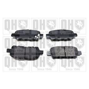 2013 Nissan Juke f15 1.6 DIG-T 4x4 Brake Pad Set, disc brake BP1371