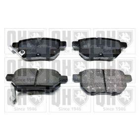 Brake Pad Set, disc brake Article № BP1619 £ 140,00