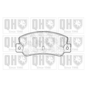 Bremsbelagsatz, Scheibenbremse Breite: 108,8mm, Höhe: 47,5mm, Dicke/Stärke: 12,00mm mit OEM-Nummer 5 888 939