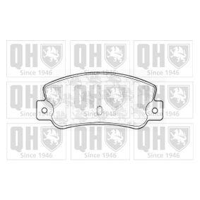 Bremsbelagsatz, Scheibenbremse Breite: 108,8mm, Höhe: 47,5mm, Dicke/Stärke: 12,00mm mit OEM-Nummer 791873