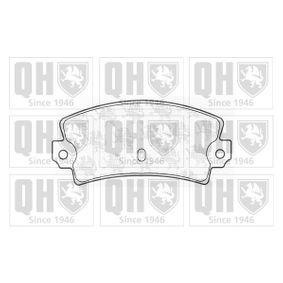 Bremsbelagsatz, Scheibenbremse Breite: 108,8mm, Höhe: 47,4mm, Dicke/Stärke: 12,00mm mit OEM-Nummer 5 888 939