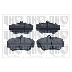 Brake Pad Set, disc brake Width: 109,9mm, Height: 67,4mm, Thickness: 17,20mm with OEM Number 3344787
