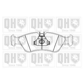 Bremsbelagsatz, Scheibenbremse Breite: 156,4mm, Höhe: 53mm, Dicke/Stärke: 18mm mit OEM-Nummer 16.05.808