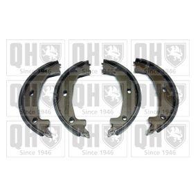 Brake Shoe Set, parking brake Ø: 160mm, Width: 20mm, Ø: 160mm with OEM Number 3441 6761 291
