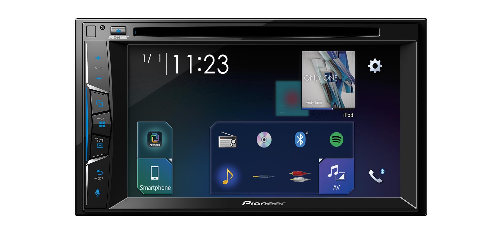 Multimedia-Empfänger AVH-Z2100BT PIONEER AVH-Z2100BT in Original Qualität