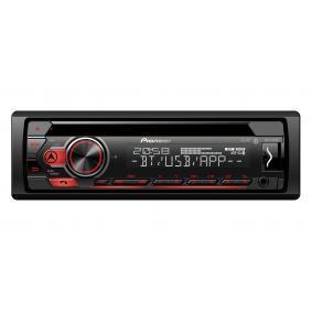 Stereo Výkon: 4x50W DEHS310BT