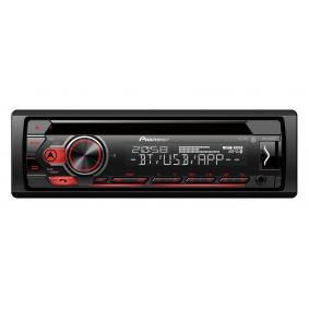 Stereo Osiągi: 4x50W DEHS310BT