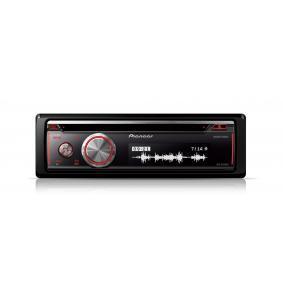 Stereo vykon: 4x50W DEHX8700BT