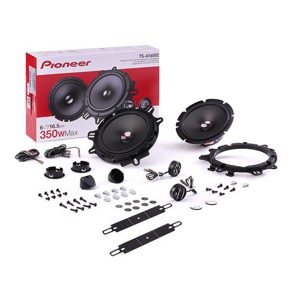 Speakers PIONEER TS-A1600C expert kennis