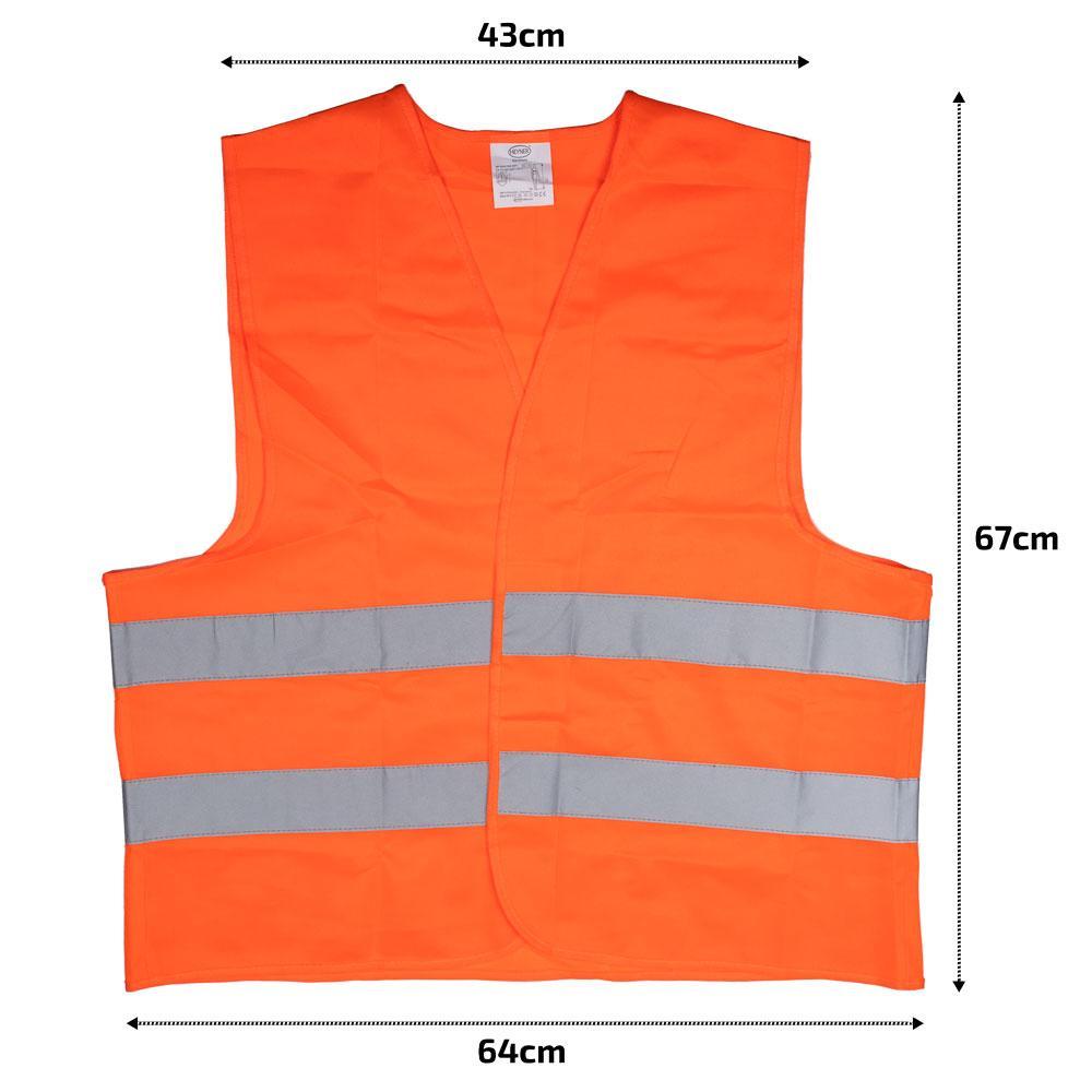 High-visibility vest HEYNER 549000 rating