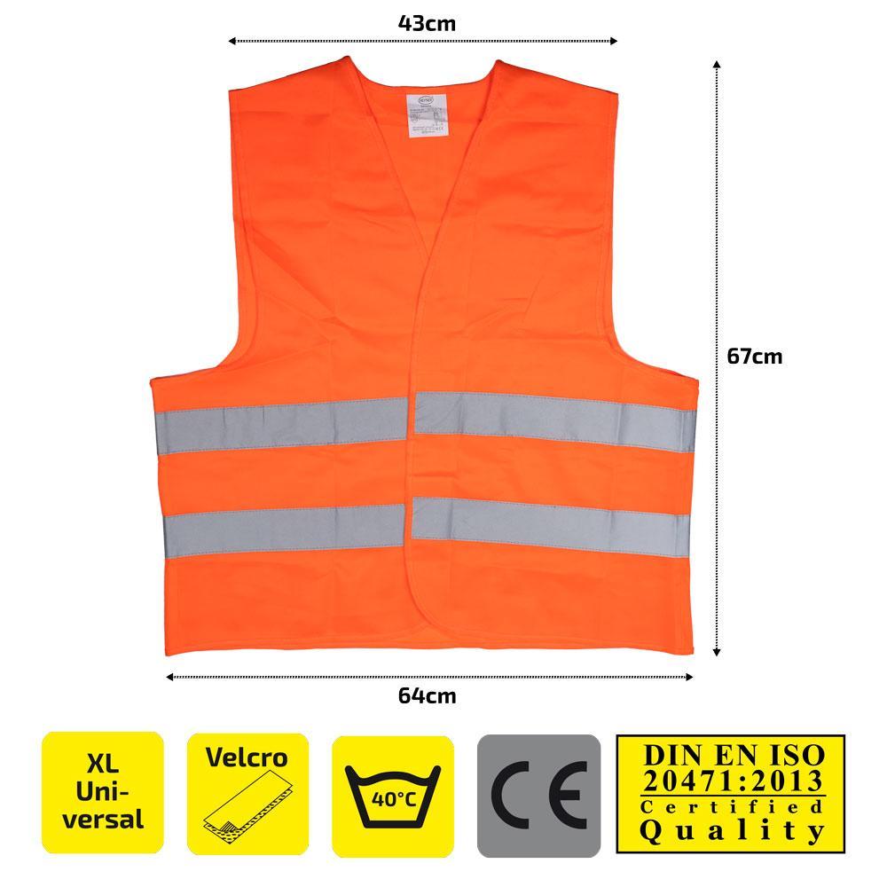High-visibility vest HEYNER 549000 expert knowledge