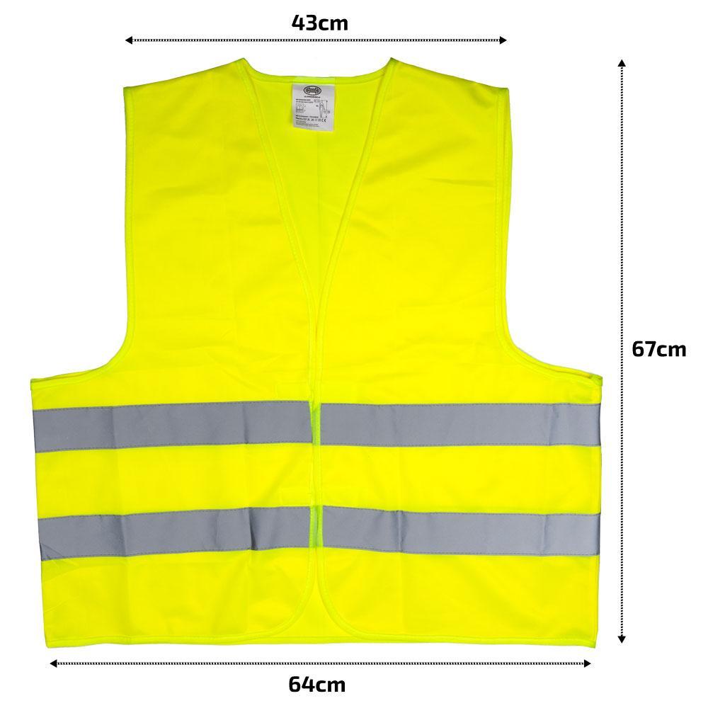 High-visibility vest HEYNER 549100 4028224549101