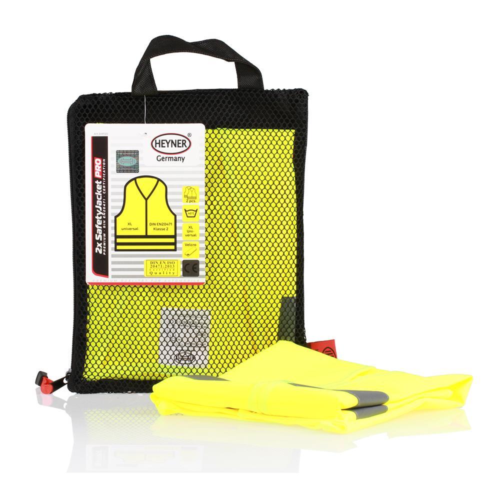 High-visibility vest 549120 HEYNER 549120 original quality