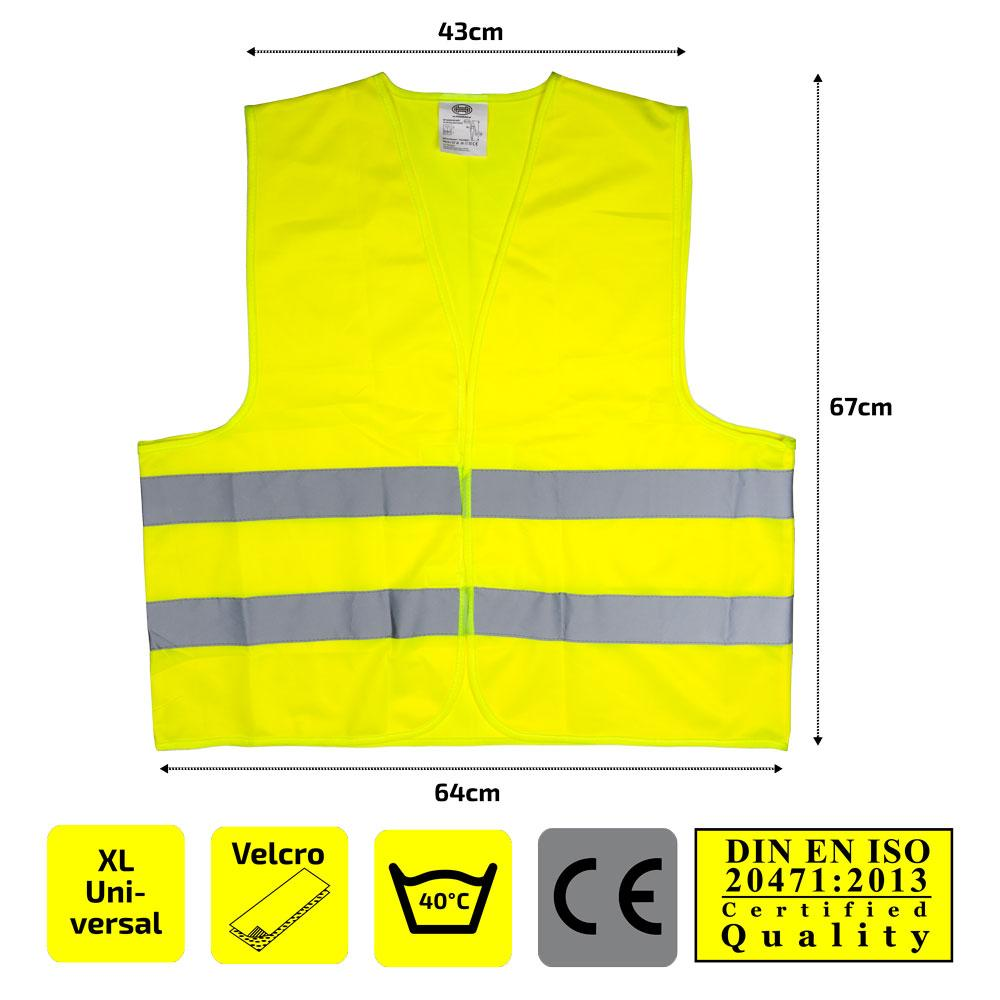 High-visibility vest HEYNER 549120 expert knowledge