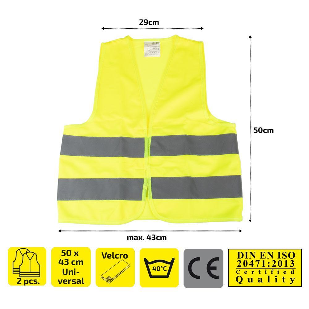 High-visibility vest HEYNER 549130 expert knowledge