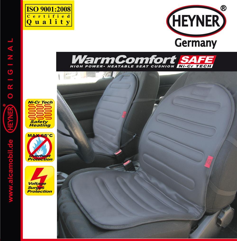 HEYNER WarmComfort Safe 504200 Heated Seat Cover