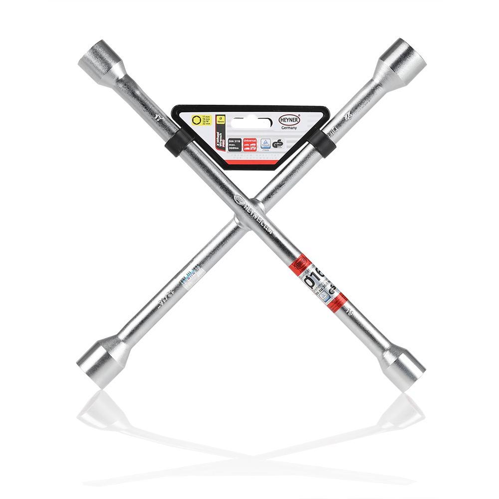 Four-way lug wrench HEYNER 420000 4028224420004