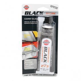Allzweck-Dichtstoffe K2 DV273 für Auto (schwarz, Silikon, Inhalt: 85ml, ölbeständig)
