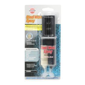 Metallkleber K2 DV477 für Auto (Tube, Blisterpack, 2600psi, Epoxidharz, Inhalt: 25ml, schwarz, Montagezeit: 120min.)