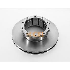 Bremsscheibe Bremsscheibendicke: 45mm, Lochanzahl: 10, Ø: 438mm mit OEM-Nummer 356 421 1012
