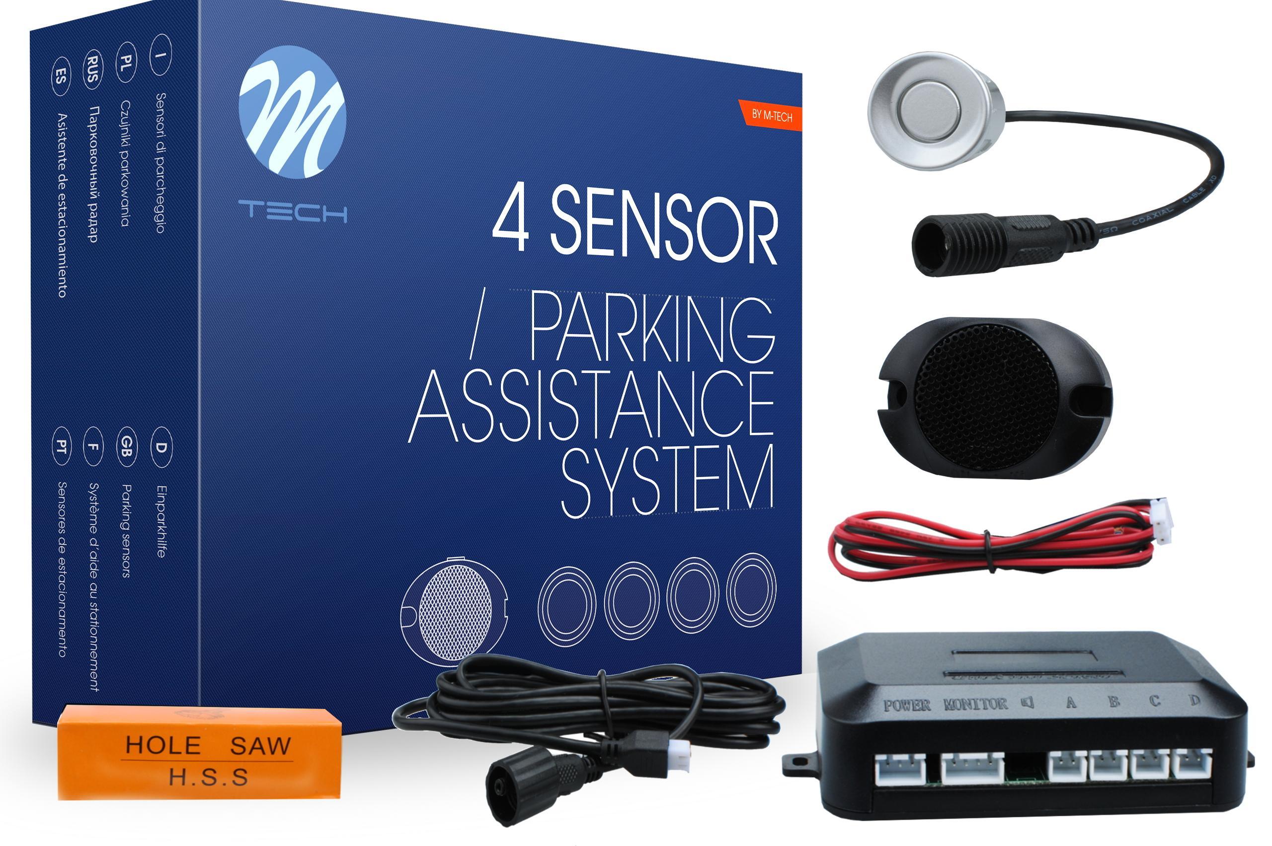 M-TECH  CP6S Parking sensors kit