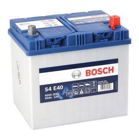 BOSCH  0 092 S4E 400 Starterbatterie Polanordnung: 0