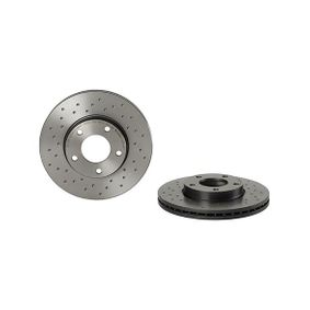 Brake Disc Brake Disc Thickness: 25mm, Num. of holes: 5, Ø: 278mm with OEM Number C24Y-33-25XC 9A