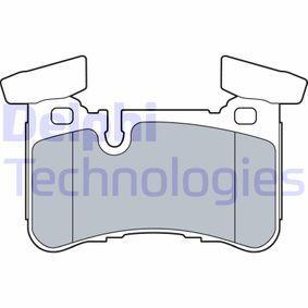 Brake Pad Set, disc brake LP3516 E-Class Saloon (W212) E 63 AMG 5.5 (212.074) MY 2014