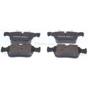 Bremsbelagsatz, Scheibenbremse Breite: 122,4mm, Höhe 1: 64mm, Höhe 2: 70mm, Dicke/Stärke: 16,1mm mit OEM-Nummer A0004205900