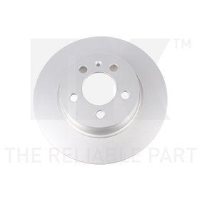 Bremsscheibe Bremsscheibendicke: 10mm, Felge: 5-loch, Ø: 272mm mit OEM-Nummer 6R0 615 601