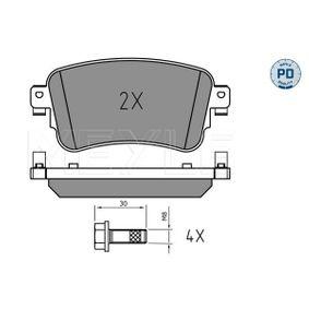 Комплект спирачно феродо, дискови спирачки Артикул № 025 225 8818/PD 370,00BGN