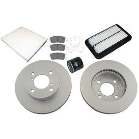 Teilesatz, Inspektion mit OEM-Nummer 16510 M82703