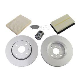 Teilesatz, Inspektion mit OEM-Nummer 17801-0M030
