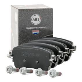 A.B.S.  35185 Brake Pad Set, disc brake Width 1: 113,9mm, Height 1: 53,4mm, Thickness 1: 17,7mm