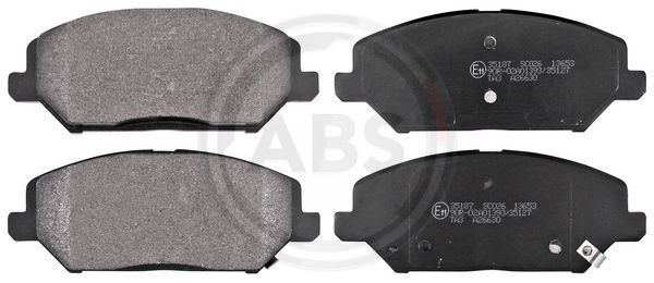 A.B.S.  35187 Brake Pad Set, disc brake Width 1: 148,8mm, Height 1: 59,7mm, Thickness 1: 19,8mm