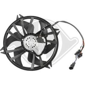 Fan, radiator DCL1306 407 SW (6E_) 2.0 HDi MY 2010