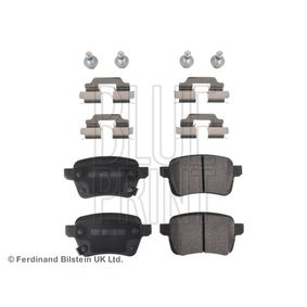 Bremsbelagsatz, Scheibenbremse Breite: 48,2mm, Dicke/Stärke 1: 16,7mm mit OEM-Nummer 77366595