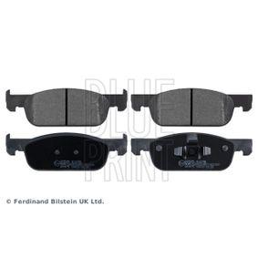 Bremsbelagsatz, Scheibenbremse Breite: 49,0mm, Dicke/Stärke 1: 16,7mm mit OEM-Nummer 4106 055 36R